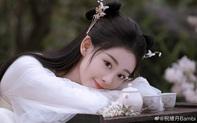 Chúc Tự Đan cực xinh trong phim cổ trang mới, đẹp thế này đã đủ làm đàn em Dương Mịch chưa?