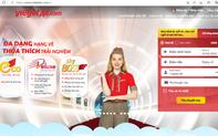 """Vietjet ra mắt phiên bản website mới """"Một chạm thông minh - Ngàn trải nghiệm - Mọi tiện ích trong tay"""""""