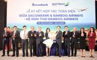 Chung tầm nhìn tiên phong chuyển đổi số, Bamboo Airways và Sacombank hợp tác toàn diện