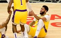 Anthony Davis lại chấn thương, Los Angeles Lakers đối mặt tương lai đen tối trước vòng Playoffs?