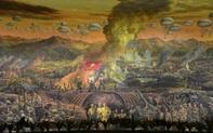 Ra mắt bức tranh khổng lồ tái hiện Chiến thắng Điện Biên Phủ