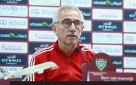 HLV tuyển UAE: Chúng tôi sẽ chơi đúng đẳng cấp cao của mình trước Việt Nam