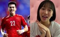 """Bình luận """"phũ phàng"""" Diệu Nhi gửi cầu thủ Tiến Linh khiến dân mạng chú ý"""