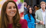 Bị nhà Sussex bôi nhọ, Công nương Kate có phản ứng gây ngỡ ngàng còn vợ chồng Meghan lại tung tin mới về con gái Lilibet