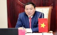 Bộ trưởng Nguyễn Văn Hùng chúc mừng thành tích xuất sắc của Đội tuyển bóng đá nam quốc gia tại Vòng 2 loại World Cup