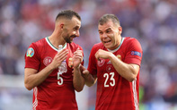 Xúc động khoảnh khắc ĐT Hungary đặt tay lên ngực trái, hát Quốc ca với 5,5 vạn khán giả sau khi kiên cường cầm hòa Pháp