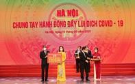 Tập đoàn Sun Group ủng hộ thành phố Hà Nội 55 tỷ đồng mua vắc-xin phòng chống Covid-19