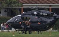 Neymar khoe chiếc trực thăng có giá lên đến hơn 300 tỷ