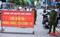 Đà Nẵng lập chốt trên các tuyến đường chính ở 7 quận, huyện kiểm tra người ra đường không cần thiết