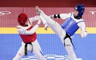 Thi đấu đổ cả máu nhưng Trương Thị Kim Tuyền (Taekwondo) vẫn dừng bước ở Olympic Tokyo 2020