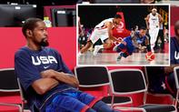 """Kevin Durant """"đi tắm sớm"""", đội tuyển Mỹ thất bại ngay trận mở màn ở Olympic Tokyo 2020"""