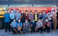 Đoàn y bác sĩ Quảng Bình tình nguyện vào TPHCM chống dịch; Đà Nẵng tăng cường quản lý, giám sát người sau cách ly