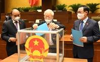 Quốc hội phê chuẩn bổ nhiệm 4 Phó Thủ tướng, các Bộ trưởng và thành viên Chính phủ