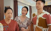 Hương vị tình thân phần 2 tập 2: Bà Dần nhầm hôn thê của Long là Nam, bà Xuân lấp liếm sống sượng