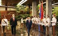 Chủ tịch Cuba Miguel Diaz Canel: Chuyến thăm của Chủ tịch nước Nguyễn Xuân Phúc góp phần tiếp tục làm sâu sắc hơn mối quan hệ đoàn kết anh em Việt Nam – Cuba