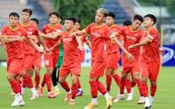 Cầu thủ U22 Việt Nam nỗ lực cạnh tranh suất tham dự vòng loại U23 châu Á 2022
