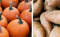 Bí đỏ và khoai lang: Loại thực phẩm nào giàu dinh dưỡng hơn?