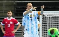 Đội tuyển futsal Argentina và Brazil giành 2 vé đầu tiên vào bán kết Futsal World Cup 2021
