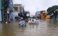 Quảng Nam nhiều nơi ngập sâu do mưa lớn