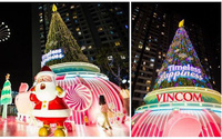 Lễ hội Giáng sinh diệu kỳ tại 61 trung tâm thương mại Vincom