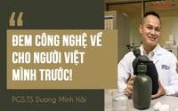 """Phó giáo sư gốc Việt sản xuất ra """"siêu vật liệu - lấy rác dọn rác"""": Tôi muốn đem công nghệ về Việt Nam, vì tôi là người Việt Nam"""