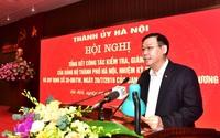 Bí thư Hà Nội yêu cầu giải quyết dứt điểm đơn thư tố cáo liên quan đến công tác nhân sự Đại hội