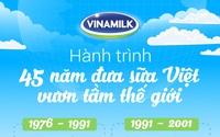 45 năm với dấu ấn của Vinamilk - Thương hiệu quốc gia vươn ra thế giới