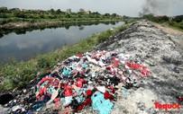 Hình ảnh ô nhiễm nghiêm trọng tại Thường Tín (Hà Nội): Rác thải la liệt trên đường với khói đen nghi ngút, dân mất ngủ vì mùi khét