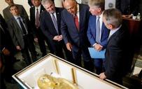 """Choáng váng giá trị cỗ quan tài bảo tàng Mỹ phải """"đắng lòng"""" trả lại Ai Cập"""