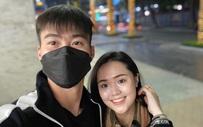"""Duy Mạnh khoe ảnh chụp cùng vợ yêu, dân mạng săm soi nhan sắc """"phập phù"""" của Quỳnh Anh còn hỏi cực gắt: Sao chị không đeo khẩu trang?"""
