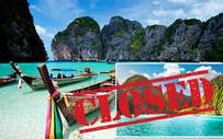 Bãi biển Maya Bay nổi tiếng của Thái Lan phải đóng cửa vô thời hạn