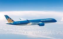 """Vietnam Airlines dùng """" siêu máy bay"""" đón đội tuyển Việt Nam"""