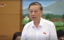 Bảo kê hoạt động tín dụng đen: Bộ trưởng Công an Tô Lâm nói gì?