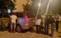 Hai vợ chồng vận chuyển ma túy bị bắt sau khi ra khỏi hầm Hải Vân