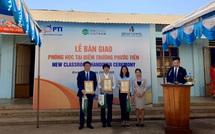 PTI trao tặng phòng học cho Trường Tiểu học Hưng Phước, Bù Đốp
