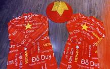 Áo dài Việt sang Dubai cổ vũ đội tuyển Việt Nam