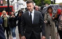 David Beckham bị cấm lái xe 6 tháng do vi phạm luật giao thông