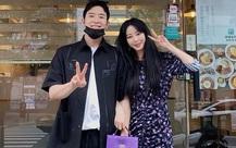 """""""Mỹ nhân"""" Han Ye Seul tươi vui sau scandal của bạn trai kém 10 tuổi"""