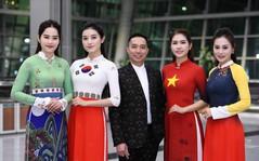 Trình diễn bộ sưu tập áo dài của Đỗ Trịnh Hoài Nam tại Hàn Quốc