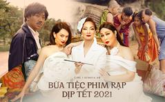 """""""Gái già"""" Kaity Nguyễn cậy giàu hà hiếp """"bố già"""" Trấn Thành ở đường đua phim Tết 2021?"""