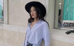 Hoa hậu Đỗ Thị Hà gây tranh cãi khi mix đồ hiệu