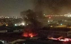 Hà Nội: Đám cháy xưởng sản xuất đồ chơi ở Long Biên  nhanh chóng bị dập tắt
