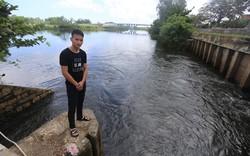 Chàng trai lao mình xuống dòng nước cứu hai mẹ con gặp nạn