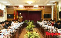 Bộ trưởng Nguyễn Ngọc Thiện nghe báo cáo tình hình giải quyết các kiến nghị cử tri