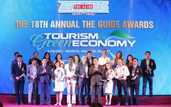 """Đang truyền hình trực tuyến lễ trao giải """"The Guide Awards"""" lần thứ 19 với chủ đề  """"Chuyển đổi Kỹ thuật số trong phát triển du lịch"""""""