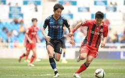 Incheon United nhận thất bại thảm tại giải quốc nội trước trận gặp ĐT Việt Nam