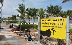 Sạt lở kinh hoàng tại bờ biển Mỹ Khê – Đà Nẵng
