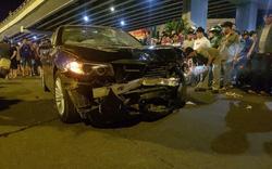 """""""Nguyên nhân"""" dẫn đến vụ tai nạn ô tô kinh hoàng của xe BMW là do """"đôi dép"""""""