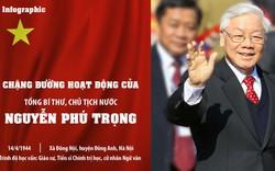 [Infographics] Chặng đường hoạt động của Tổng Bí thư, Chủ tịch nước Nguyễn Phú Trọng
