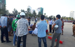 Một du khách Trung Quốc tử vong nghi do đột quỵ khi tắm biển ở Đà Nẵng